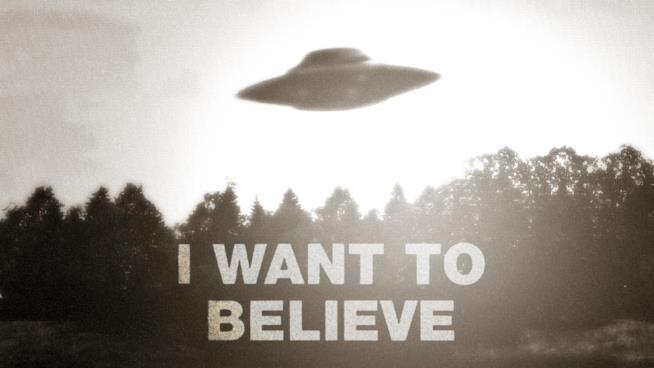 Il famoso UFO di X-Files