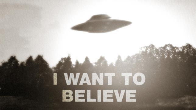 Il poster nell'ufficio di Mulder