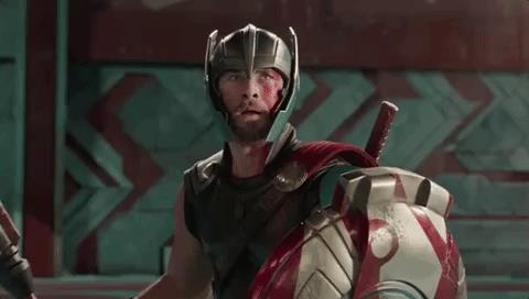 Thor è felice di incontrare un vecchio amico