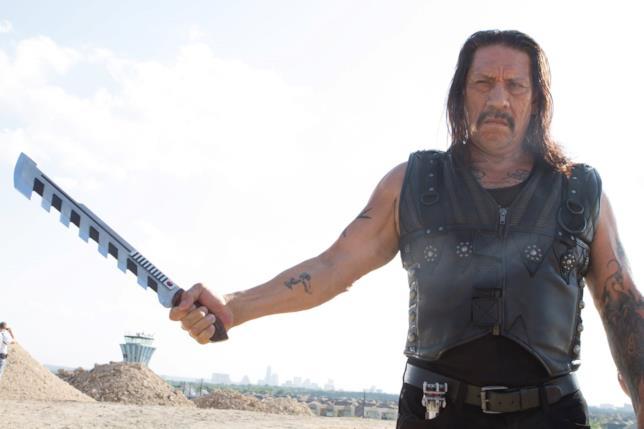 Danny Trejo in una scena di Machete Kills
