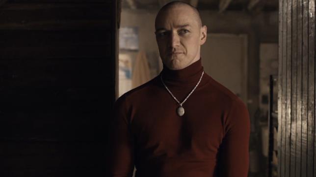 James McAvoy è il protagonista del thriller Split