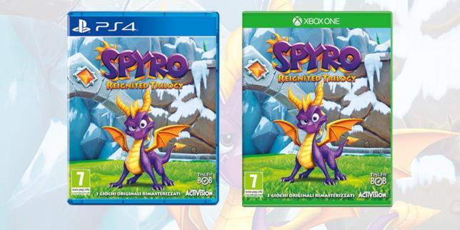 Spyro Reignited Trilogy è già disponibile su PS4 e Xbox One
