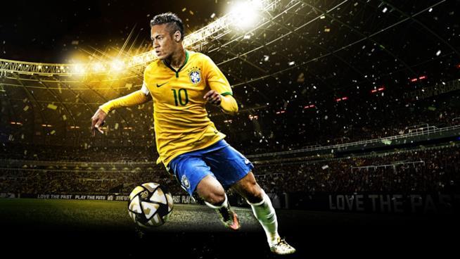 Neymar Jr sulla copertina ufficiale di PES 2016