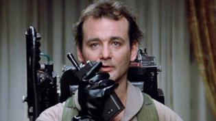 Bill Murray in una scena di Ghostbusters del 1984