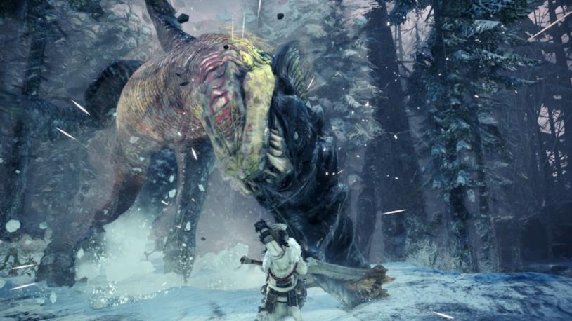 Beotodus nuovo mostro Iceborne