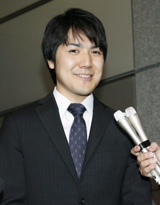 Kei kamuro, futuro fidanzato della principessa Mako