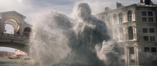 Immagine di Hydro-Man in azione nel primo trailer di Spider-Man: Far From Home