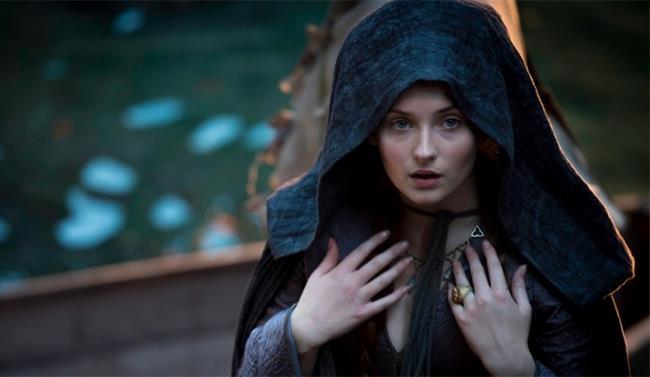 Sophie Turner nel ruolo di Sansa Stark in GoT
