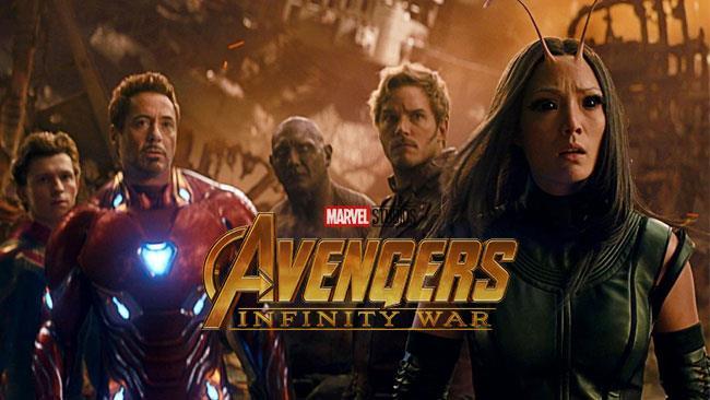 Iron Man, Spider-Man e i Guardiani della Galassia in Infinity War