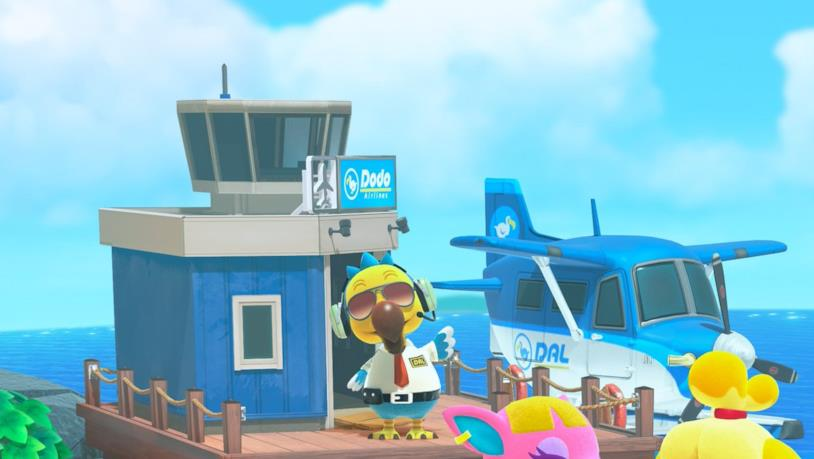 Le Dodo Airlines in Animal Crossing: New Horizons