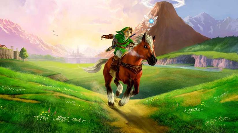 Link cavalca la sua Epona