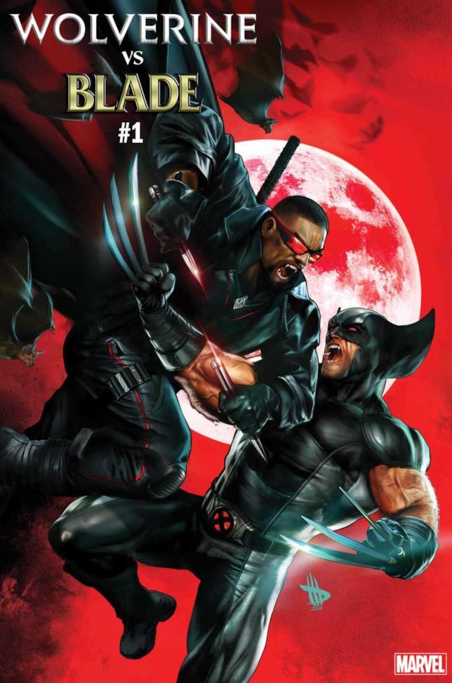 Wolverine VS Blade Special #1