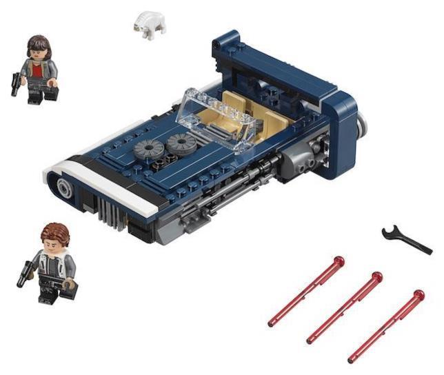 Dettagli sul set di LEGO Han Solo's Landspeeder