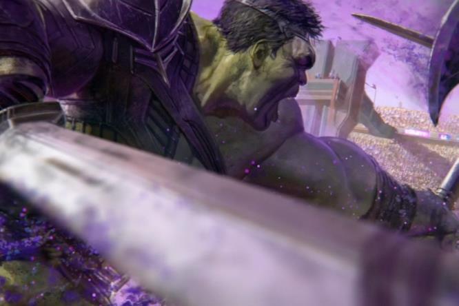 Hulk contro Thor in Thor: Ragnarok