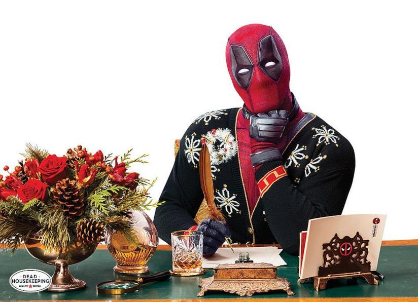 Anche Deadpool si prepara al Natale