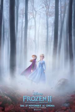 Elsa e Anna nella locandina italiana di Frozen 2