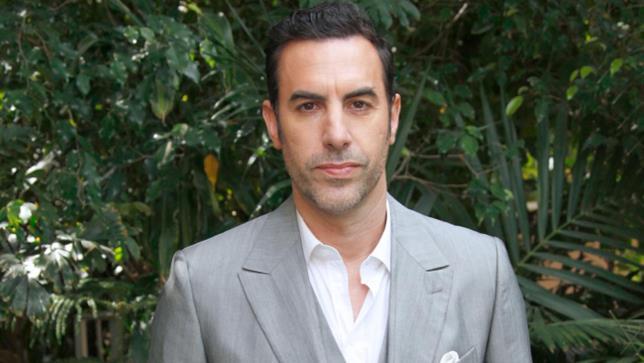 L'attore Sacha Baron Cohen