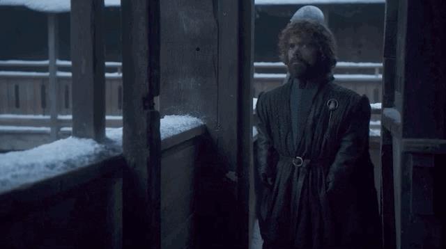 Tyrion e Sansa nella GIF di GoT 8