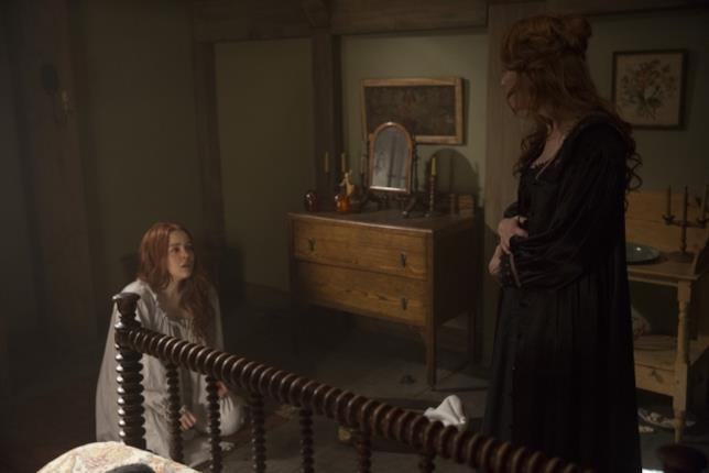 Azure Parsons e Tamzin Merchant interpretano Gloriana e Anne Hale
