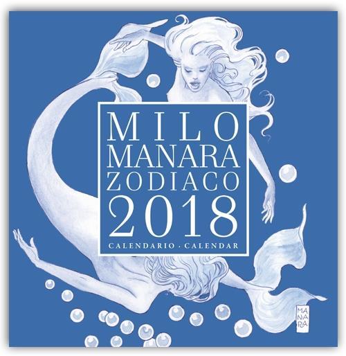 La copertina del Calendario dello Zodiaco 2018