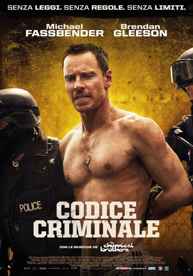 Michael Fassbender nel poster italiano di Codice criminale