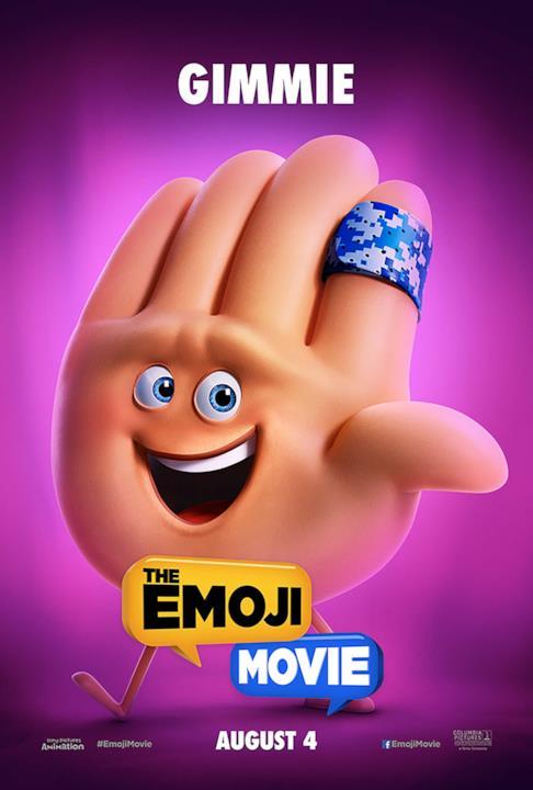 Una mano emoji pronta a battere 5