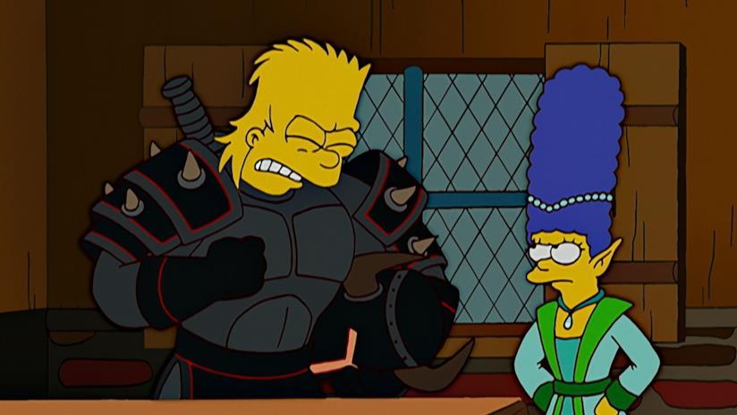I Simpson: Bart nelle vesti de Il Cavaliere Ombra