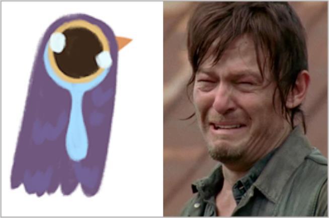 Il piccione viola e The Walking Dead