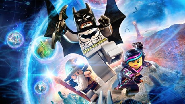 I tre protagonisti di LEGO Dimensions