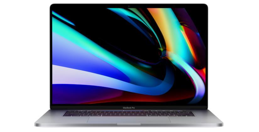 """Immagine stampa dell'ultimo MacBook Pro 16"""" di Apple"""