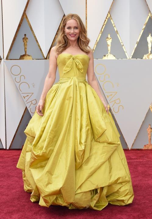 Leslie Mann in Zac Posen agli Oscar 2017