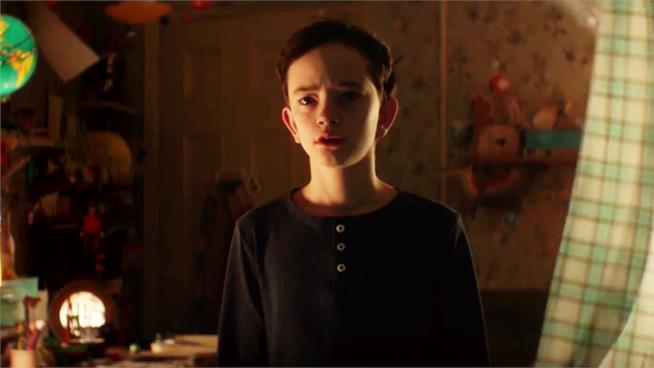 Un'immagine dal nuovo trailer di A Monster Calls