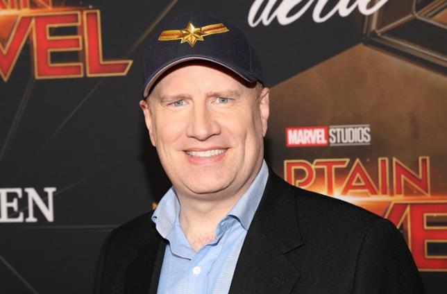 Kevin Feige alla premiére di Captain Marvel