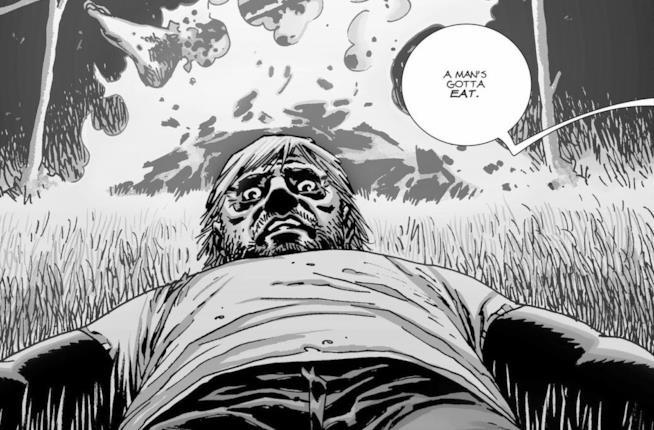 L'imminente morte di Dale nel fumetto di The Walking Dead