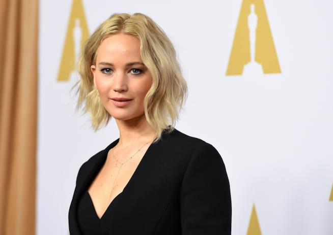 L'attrice Jennifer Lawrence