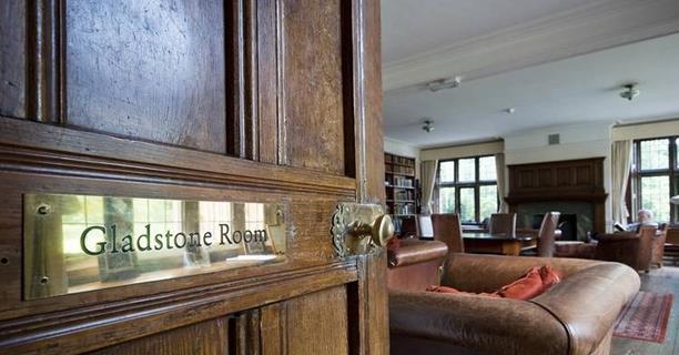 Una parte della Gladstone Room