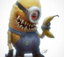 Totoro in versione zombie
