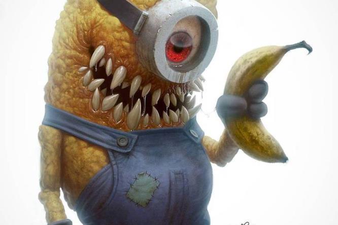 I protagonisti dei cartoni in versione zombie horror gallery