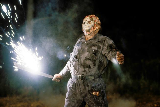 Scena del film Jason goes to Hell