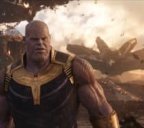 Thanos su Titano in Avengers: Infinity War