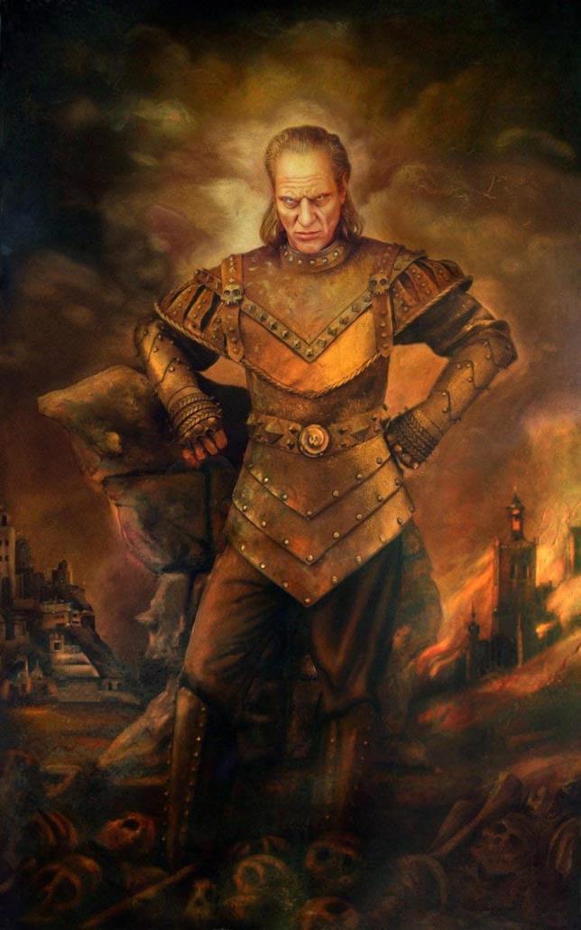Il poster di Vigo da Ghostbusters II