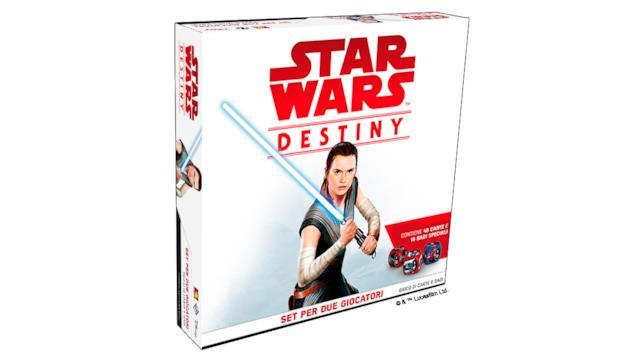 Un nuovo set del famoso gioco di carte e dadi Star Wars: Destiny celebra l'uscita del nuovo film della saga in uscita a dicembre