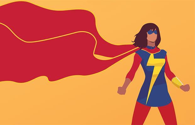 Kamala Khan è Ms. Marvel