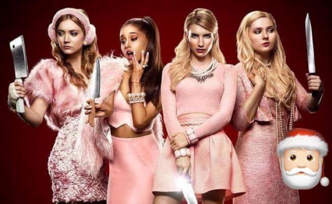 Le Chanel di Scream Queens in versione Natale