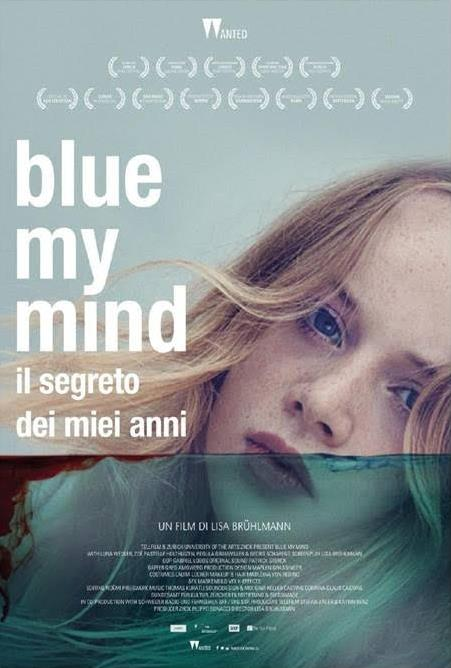 La locandina ufficiale di Blue my mind - Il segreto dei miei anni