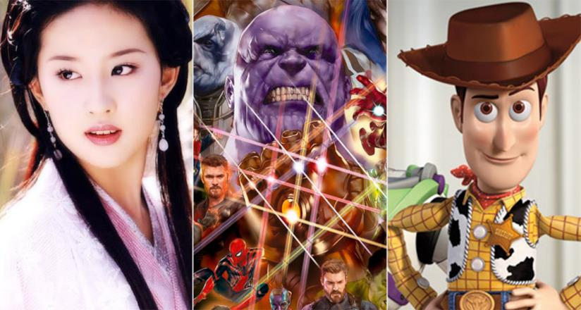 Mulan, Avengers 3 e Toy Story 4