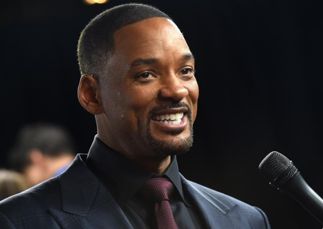 Will Smith in primo piano
