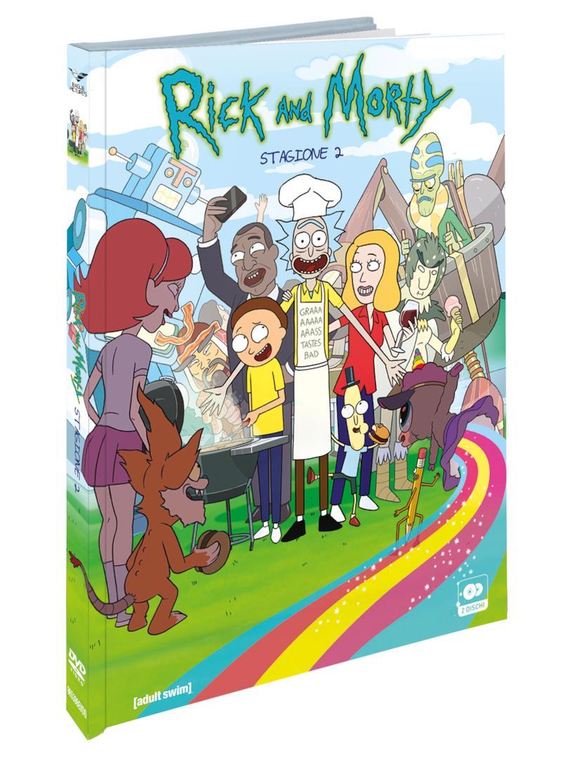 La versione DVD e Blue - Ray di Rick and Morty