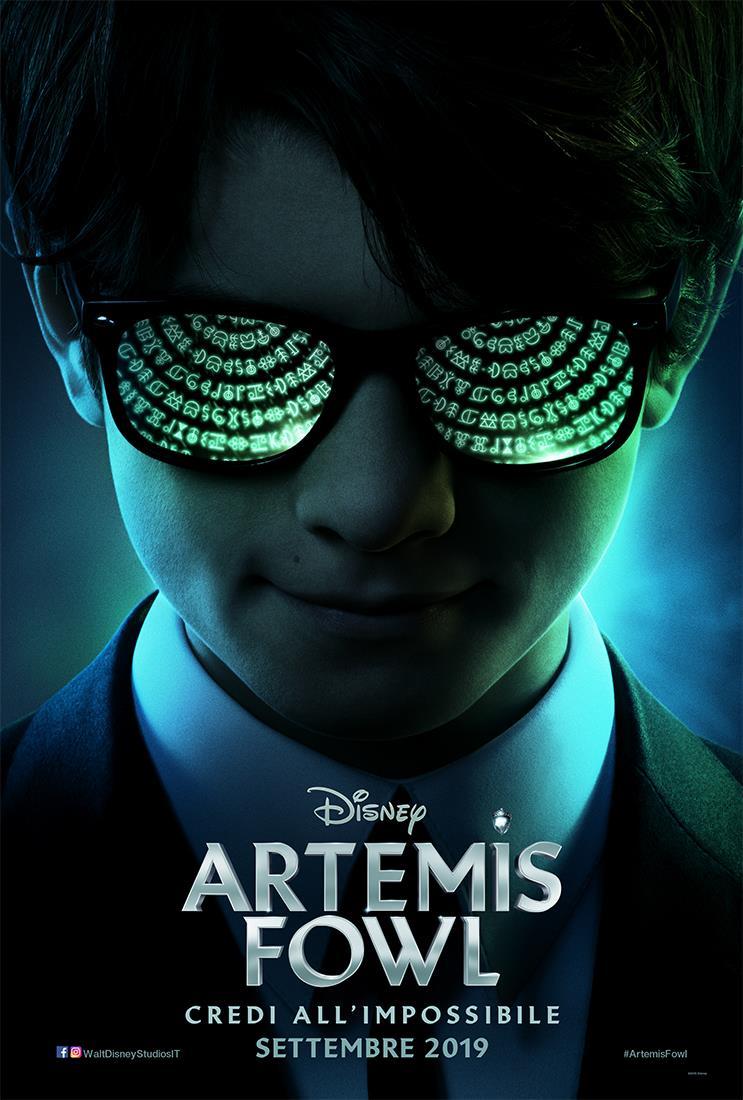 Il poster ufficiale di Artemis Fowl
