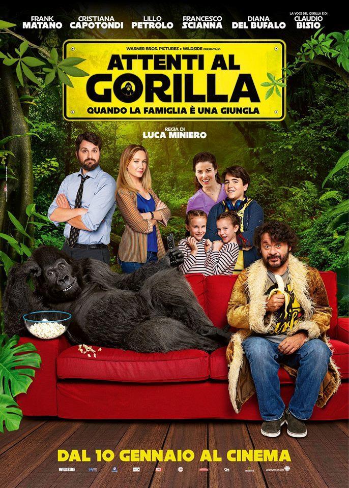 Il poster del film Attenti al gorilla